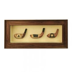 Harvard Golf clubs are reminiscent of a by gone era. Hand crafted and in rich timber tones to compliment any decor