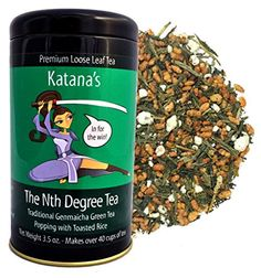 Katanas The Nth Degree Tea Genmaicha Green ** Visit the image link more details. Note: It's an affiliate link to Amazon.