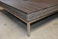 Polywood tafel van Loungeset Nova