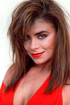 """Paula Abdul: She was recruited by The Jacksons to choreograph their 1984 """"Torture"""" video, the first in a long list of videos and movies she would choreograph. She branched out into singing with her first CD, """"Forever Your Girl"""", which had lackluster. Audrey Horne, Mandy Moore, Elizabeth Taylor, Cindy Crawford, American Idol, Twin Peaks, Angelina Jolie, Kylie Minogue, Hollywood Stars"""
