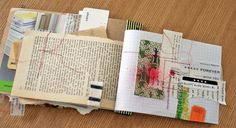 beautiful Journal of scraps