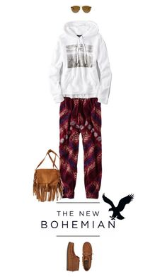 """The New Bohemian with American Eagle Outfitters: Contest Entry"" by missioppa ❤ liked on Polyvore"
