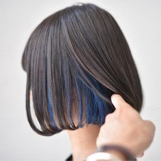 Kaira y Björn Underdye Hair, Dye My Hair, Ombre Hair, Balayage Hair, Diy Hairstyles, Pretty Hairstyles, Underlights Hair, Hair Color Streaks, Grunge Hair