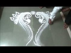 Rangoli best design - YouTube