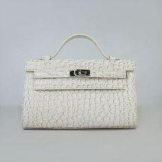561428b5533 Hermes Kelly 22CM tote bag en pierre d argent de modèle blanc cassé  handbags…