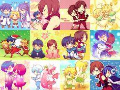 many many Vocaloid HatsuneMiku vocaloid megurineluka kagamine rin len vocaloid 初音ミク ボーカロイド ボカロ 鏡音リン ルカ 巡音ルカ