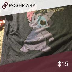 Stitch shirt Worn a few times. No damage. Disney Tops Tees - Short Sleeve