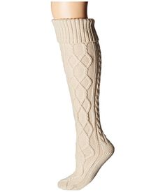 Free People Cozy Cable OTK Sock at 6pm.com