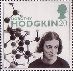 20th Century Women of Achievment - Portraits of Genius 20p Stamp (1996) Prof. Dorothy Hodgkin (scientist)