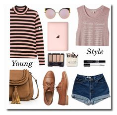 """""""Young style.."""" by gul07 ❤ liked on Polyvore featuring Gap, Shrimps, Express, Fendi and Christian Dior"""