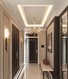 False ceiling designs False ceiling designs and false ceiling for interior ( wooden, gypsum, plaster board, metal ) with Luxury Interior Design, Luxury Home Decor, Interior Decorating, Luxury Apartments, Luxury Homes, Home Ceiling, Ceiling Ideas, Ceiling Lights, Small Apartment Interior