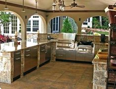 Outdoor Kitchen Decor Ideas 13