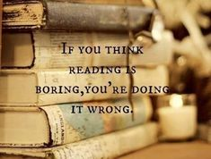 If you think reading is boring, you're doing it wrong. 2011 Photo (detail) © Traci TESSONE via her blog, WhimsyDecor.
