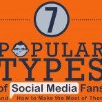 7 popular types of #socialmedia via @Noel Carrion