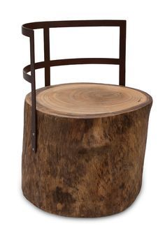 log stool ♠️♠️More At FOSTERGINGER @ Pinterest. ♠️♠️