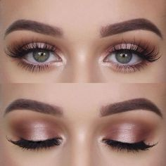 Natural makeup for green eyes, love it - - Natural makeup for green eyes, love it Beauty Makeup Hacks Ideas Wedding Makeup Looks for Women Makeup Tips Prom Makeup ideas Cut Natural Makeup Hallo. Makeup Inspo, Makeup Inspiration, Makeup Style, Makeup Geek, Style Inspiration, Wedding Inspiration, Glam Makeup, Natural Summer Makeup, Prom Make Up Natural