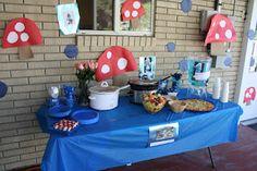 Smurf Birthday Ideas