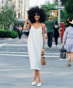 Solange gave these ladies an all-white dress code—and they showed UP. @sommerswim