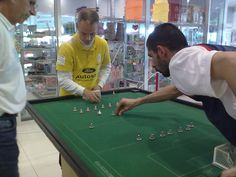 Table Soccer (although we want Subbuteo back!).