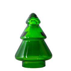 Hadeland Glassverk Juletre Glass Grønn 12,7 cm