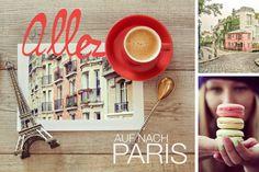 Ganz, wie Amélie Poulain schlendern wir die Rue Lepic entlang und kehren ein, in das Café Les 2 Moulins.