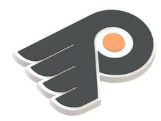 Philadelphia Flyers ice hockey team logo  #3D   #logo   #NHL   #3Dmodel   #PhiladelphiaFlyers  #icehockey