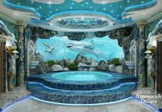 Today, for your attention we present the interior design of the SPA zone. We hope you enjoy!