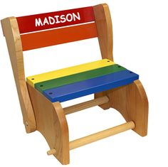 Classic Step Stool Chair   Holgate Toys