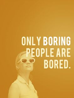 Don't be a Bore!