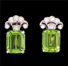 Tiffany & Co. Peridot earrings