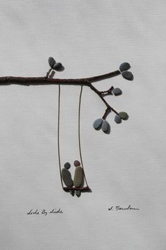 Pebble Art of Nova Scotia by Sharon Nowlan. $120.00, via Etsy.