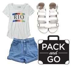 """""""Pack and go: Rio!"""" by bryantalex ❤ liked on Polyvore featuring Abercrombie & Fitch and Bill Blass"""