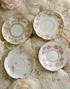 Collection of Four Beautiful Antique Limoges by Jenneliserose