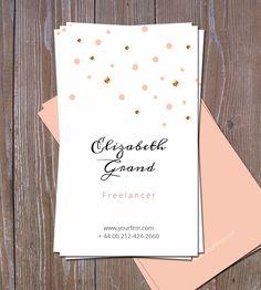 Delicat Business Card by Webvilla on Creative Market