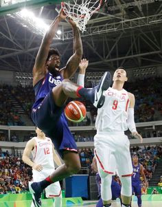 88c1d0bcd8ea Rio Olympics  United States men s basketball vs. China. Rio Olympics  2016Summer ...