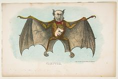 Vampyre, from The Comic Natural History of the Human Race