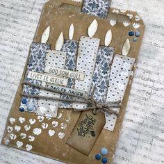 """166 likerklikk, 18 kommentarer – HildeRøisehagen (@hilderoisehagen) på Instagram: """"Nytt bidrag i dag for @papirdesign #cardmaking #stempelgalkort #papirdesign #dtbidrag"""""""