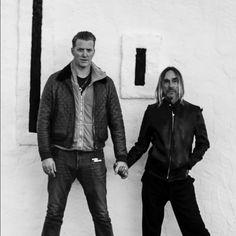 Iggy Pop & Josh Homme <3