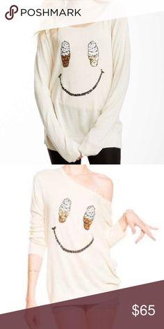 Wildfox white label soft serve sweater Euc! No major signs of wear Wildfox Sweaters Crew & Scoop Necks