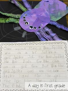 A Day in First Grade | A week of spiders {How do you fit it all in?}