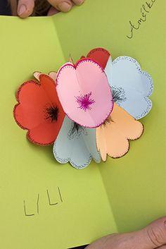 Flower card tutorial