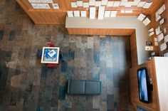 Florida Tiles HDP (High Definition Porcelain) looks great and is SUPER durable!