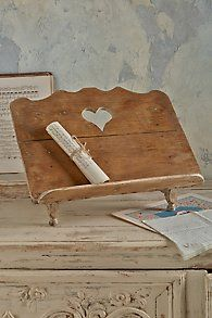 Vintage French Soul ~ Pierre Lectern Book rack perfect for a family photo album ... make it special