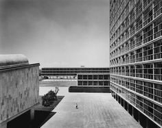 Humanities Tower National University Campus. Mexico City 1954