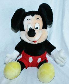 Disneyland  Mickey Mouse Plush Disney World Theme Park Doll Stuffed Animal