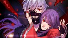 Ken Kaneki Rize Kamishiro Tokyo Ghoul Picture 1366x768