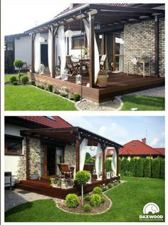 Pergola In Front Yard Home Landscaping, Front Yard Landscaping, Landscaping Design, Outdoor Rooms, Outdoor Living, Outdoor Decor, Diy Pergola, Pergola Ideas, Casas Country