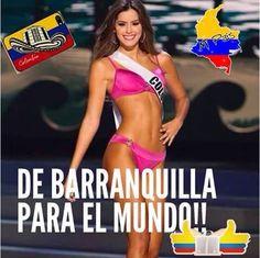 Miss Colombia Jan 2015 Paulina Vega