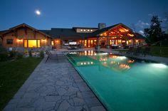 Musberger residence, Hamilton, MT.