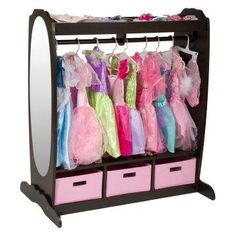Dress Up Storage.